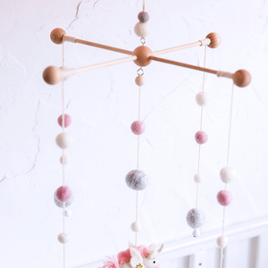 Image 5 - 100PCS 20mm 100% Wool Felt Balls DIY Balls Hanging Accessories Candy Color Wool Ball For Kids Room Decoration Nursery Home Decor