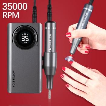 Nail Drill Machine 35000 RPM Portable 1