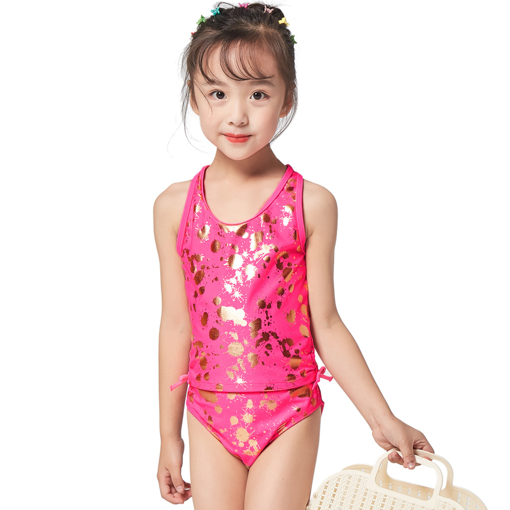 2019 New Style CHILDREN'S Swimsuit Girls Baby Two-piece Swimsuits Cute Princess GIRL'S Swimsuit Manufacturers Direct Selling Swi