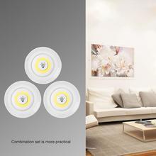 COB światła podszawkowe LED bezprzewodowe ściemnianie z pilotem baterie LED szafy światła do szafy oświetlenie łazienki tanie tanio Youool cabinet light Brak MOTION