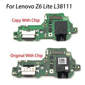 Image 4 - Câble de câble de Dock de Port de prise de connecteur de charge de puissance dusb pour Lenovo Z6 Lite L38111