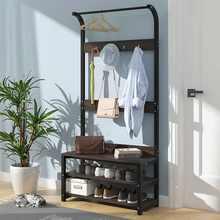 Cabide de ferro sapatos rack roupas cabide quarto sala estar móveis piso em pé vestuário metal pendurado prateleira