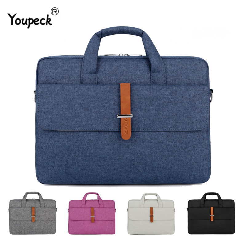 Waterproof Laptop Bag <font><b>17.3</b></font> <font><b>Case</b></font> for Macbook Pro 15 <font><b>Notebook</b></font> Bag 14 Inch Laptop Sleeve Laptop Bag 15.6 for Macbook Air 13 13.3,14 image