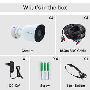 Image 5 - Камера видеонаблюдения Movols, AHD/TVI/CVI/аналоговая 4 в 1 с ночным видением, 60 футов, Кабель BNC и DCplug для системы DVR