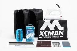 Набор для катания на лыжах и сноуборде XCMAN, полный набор для воска и тюнинга, сумка для травли и хранения инструментов, сумка с молнией и утюг...