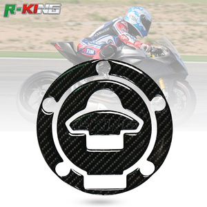 For Ducati S4R S2R M620 695 748 DS1000 1090 1198 3D Carbon Fiber Motorcycle Oil Fuel Gas Tank Cap Cover Decal Sticker Protector(China)