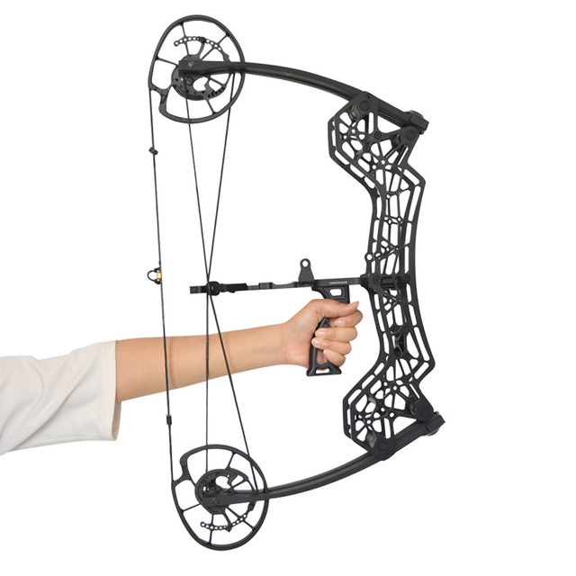 NEW 30-60LBS Archery Compound Bow 310FPS RH Catapult Dual-use Steel Ball Arrows Shooting slingshot Hunting Shooting 2