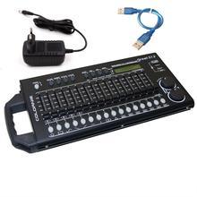 512 Canali DMX & RDM Regolatore di Illuminazione Della Fase di DMX Console Dmx512 Console di Lavoro Con USB Accumulatori e caricabatterie di riserva Per La Luce Della Fase DJ attrezzature