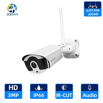 3.0MP Wifi IP Camera Outdoor Infrared Night Vision Security Video Surveillance Audio Recording Wireless for Jooan NVR - discount item  29% OFF Video Surveillance