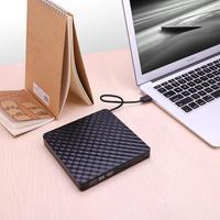 GloryStar DVD Drive High Speed Data Transfer USB 3.0 External CD DVD Reader Writer Player for Laptop Desktop Macbook