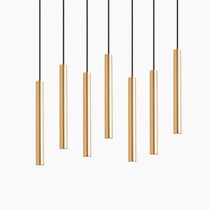 Image 3 - Luces colgantes LED de cilindro regulable, lámparas de tubo largo, decoración de cocina, comedor, tienda, Bar, cordón, lámpara colgante, luces de fondo