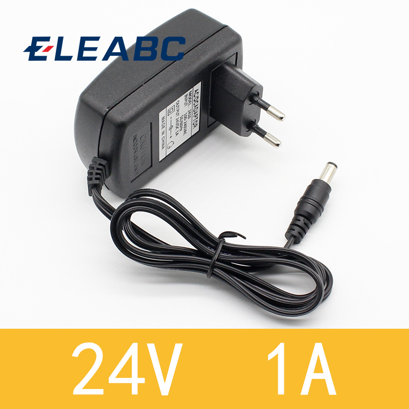 1PCS 2018 Newest Hot EU Plug AC 110V 220V Converter DC <font><b>24V</b></font> <font><b>1A</b></font> Server Power Supply <font><b>Adapter</b></font> image