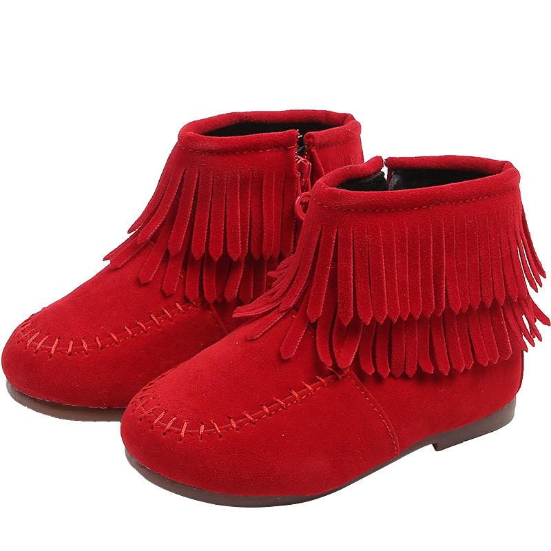 Детская обувь ботинки для девочек до 3 лет зимние сапоги для маленьких девочек балетки на плоской подошве кроссовки ручной работы обувь на м