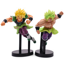 21cm Dragon Ball Super Action Figure Saiyan Broly Full Power Z Broli Battle PVC Figures Anime Cartoon DBZ Model Toys Doll