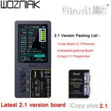 QianLi iCopy 2,1, transmisión de datos para piezas de iPhone, icluding LCD, Motor vibratorio táctil y banda base