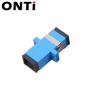Image 4 - ONTi 200 шт. волоконно оптический соединитель Адаптер SC / UPC SM фланец одномодовый Simplex SC SC APC Муфта Бесплатная доставка Оптовая продажа