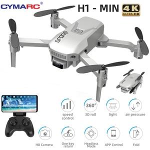 CYMARC H1 Mini Drone 4K HD Camera 1080P Wifi FPV Camera Drone RC Drone Altitude Hold Foldable RC Quadcopter Dron M73 E88