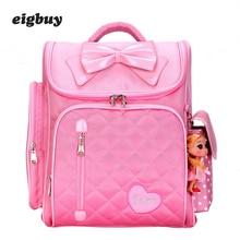 Primary Miss Scholar Backpacks For Children Girls Of The Heart Butterfly 1 -4 Backpack School Bags Mochila