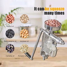 Oil-Press-Machine Oil-Extractor Peanut Nuts-Seeds Manual Household
