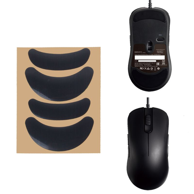 2 Sets/Pack Original Hotline Games Competition Level Mouse Feet Mouse Skates Gildes For Zowie AM / ZA11 / ZA12 / FK1 / FK2 / FK+