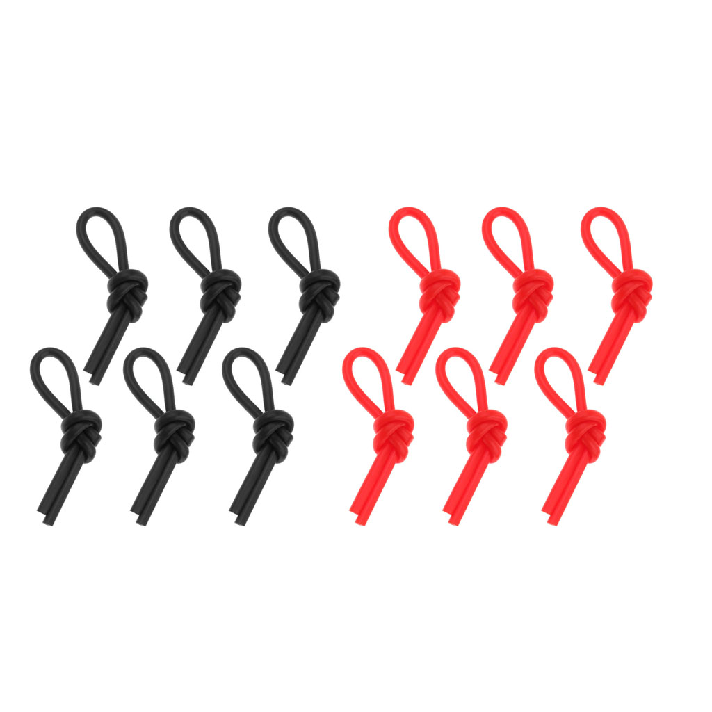 12 Pieces String Vibration Dampener Shock Absorber For Tennis Squash Racquetball