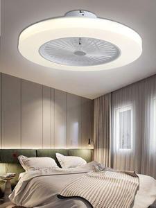 220 В потолочный вентилятор с дистанционным управлением, Современный домашний декор 110 в 58 см вентилятор + лампа ventilador de teto потолочный светиль...
