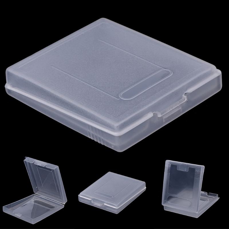 5x Clear Plastic Game Cartridge Case Dust Cover For Nintendo Game Boy Color GBC