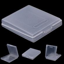 5x limpar caso de cartucho de jogo de plástico capa poeira para nintendo game boy cor gbc