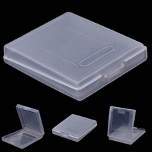 5x واضح البلاستيك لعبة خرطوشة غطاء غبار لنينتندو لعبة بوي اللون GBC