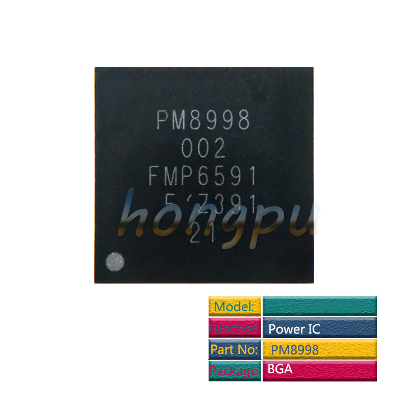 2pcs/lot PM8998 For Samsung S8 G9500 /S8+ G9550 /Note 8 Main/Big Power PM IC Power Management Supply PMIC Chip
