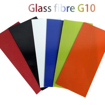 1 sztuk włókna szklanego G10 DIY rękojeść noża spacer materiał ABS 7 kolor dostępny 1mm grubość nóż cholewka materiał akcesoriów tanie i dobre opinie Części do narzędzi ręcznych CN (pochodzenie) G10 white steel paper Ze stali stopowej do majsterkowania w domu