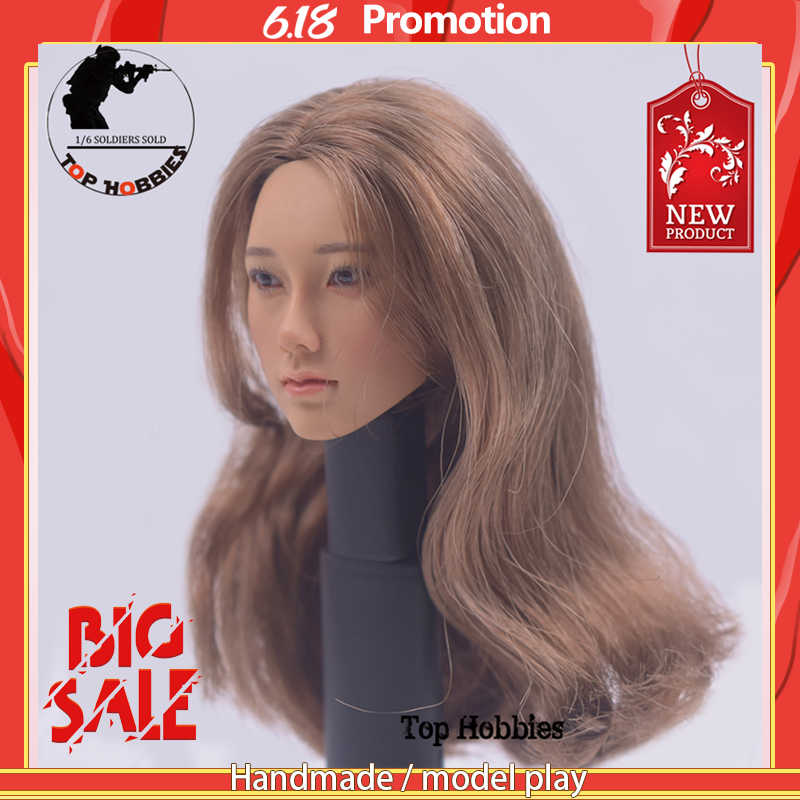 1//6 Scale KUMIK head sculpt Female Fit 12 Inch Jodol//Ph// Action FIugre Body Part