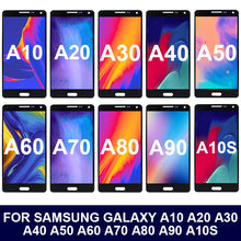 100% tested touch screen for samsung galaxy a10 a20 a30 a40