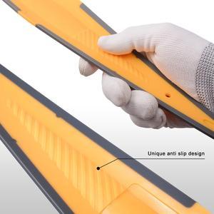 Image 5 - FOSHIO Lange Weiche Gummi Rakel Carbon Faser Film Auto Vinyl Verpackung Schaber Glas Fenster Tönung Reinigung Werkzeug Wasser Entferner