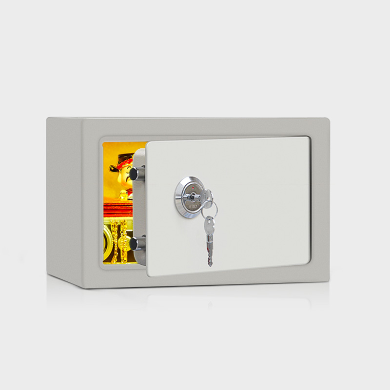 Golden Security Home Safe Household Steel Safe Box Small Wall Mini Mechanical Safe Office Cash Box Cash Box With Lock Iron Box