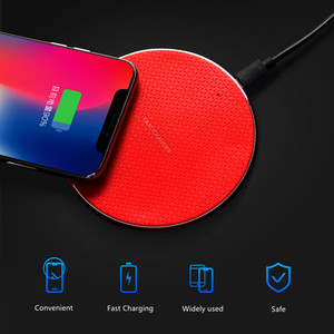 Image 5 - 10W Qi Wireless Charger For Samsung Galaxy S10 S9 S8 Huawei P30 Pro Fast Charging Pad Phone Charger for iPhone 11 Pro XS Max XR