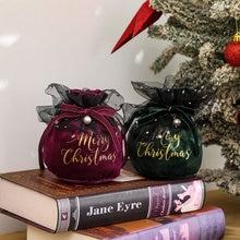 Christmas Santa Candy Bag Xmas TUTU Bag Decorations