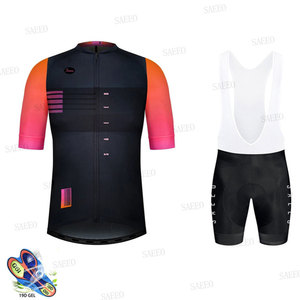 Gobikeful New Summer Male Cycling Jersey Set Breathable MTB Bicycle Cycling Clothing Mountain Bike Clothes Maillot Ropa Ciclismo