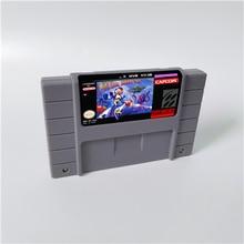 Mega Man X aksiyon oyunu kartı abd sürümü İngilizce dil