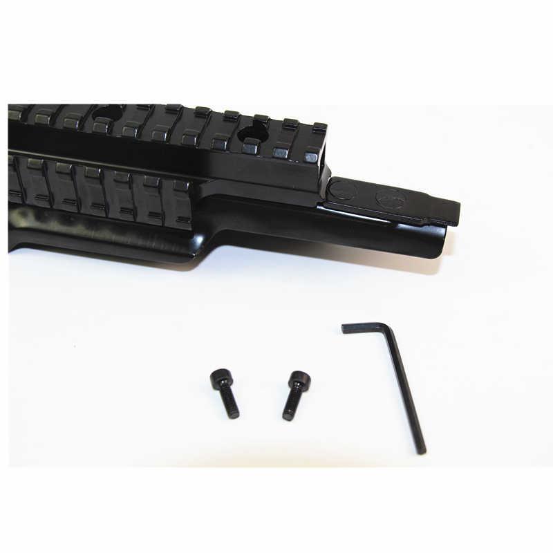 Tactical Tri-Schiene Picatinny Umfang Mount Outdoor Jagd Airsoft Schießen Getriebe Zubehör Mit Einstellbare Seite Weaver für AK 47