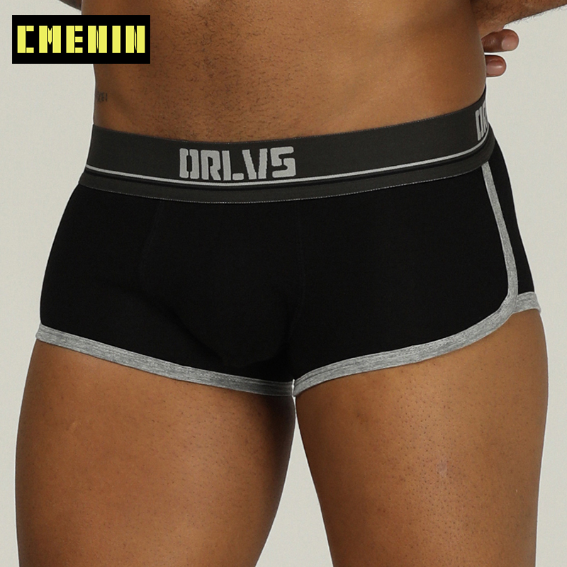 Men Boxer Underwear Gay Boxers Male Cueca Boxers Male Panties Men's Clothing Underpants Breathable Homme Men's Boxershort OR198