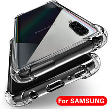 Clear Shockproof Case for Samsung Galaxy S10 S8 S9 Plus A10 A20 A30 A40 A50 A70 Silicone Phone Cases for Samsung S10 Back Cover