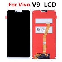 באיכות גבוהה lcd 6.3 אינץ עבור BBK vivo V9 LCD תצוגה עם מסך מגע Digitizer עצרת החלפה עבור vivo v9 מלא lcd