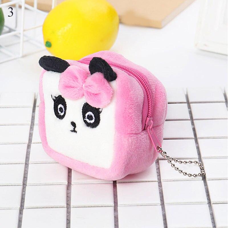 Girls Coin Money Wallet  Mini Coin Purse Bag Cute Plush Cute Small Coin Wallet  Zipper Pouch Pocket Kids Handbag Gift