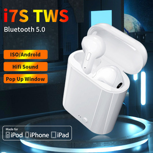 Airpodding i7s TWS Wireless Headphones Bluetooth 5.0 Headset Music Earbuds Sport Headphones Earpiece With Mic For All SmartPhone