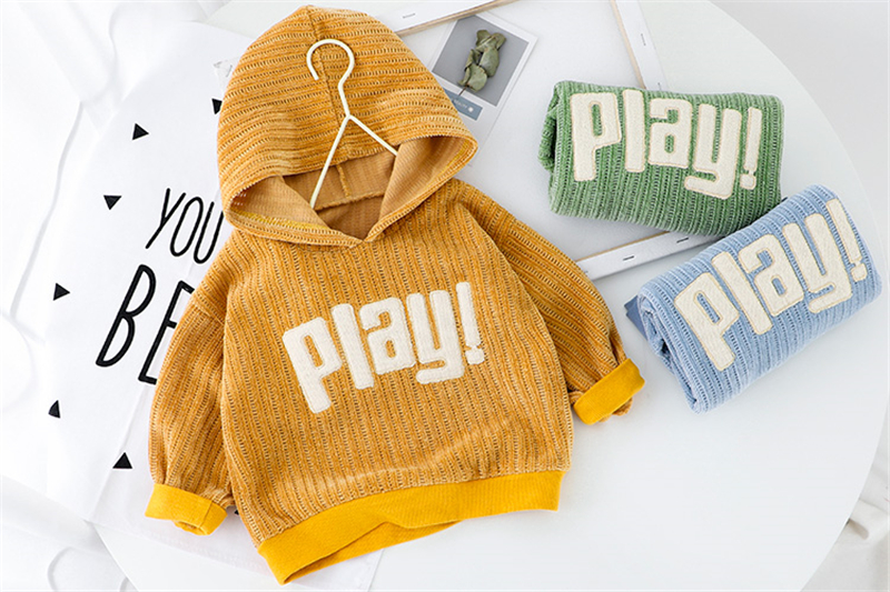 HYLKIDHUOSE 2020 Spring Baby Girls Boys Clothing Sets Sports Hooded Tops Pants Children Casual Clothes Toddler Infant Clothing