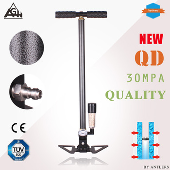New 30Mpa 4500psi PCP Paintball Air Rifle hand pump 3Stage High pressure with filter Diving Mini Compressor bomba not hill