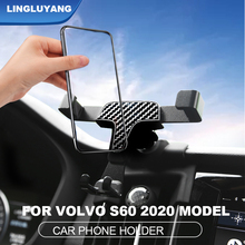 for volvo S60 2020 new car phone holder S60 air outlet navigation phone holder modification car Accessories