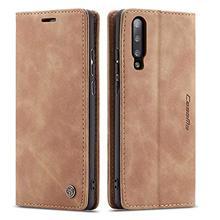 Роскошный Магнитный ретро матовый износостойкий кошелек, кожаный чехол для телефона samsung A50 A70 A80 A90 A40 A30 A20E, чехол с откидной крышкой