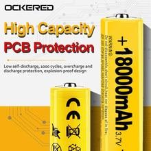 10 sztuk 18650 akumulator 100% nowy oryginalny 3.7V 18650 litowo dla elektronarzędzia z bateriami ochrony PCB